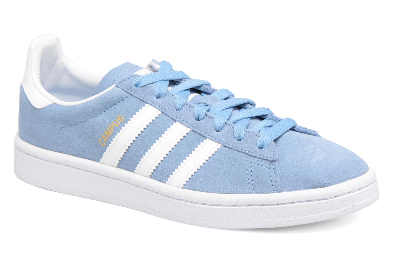 Sneakers Adidas Originals Campus J Blå detaljeret billede af skoene