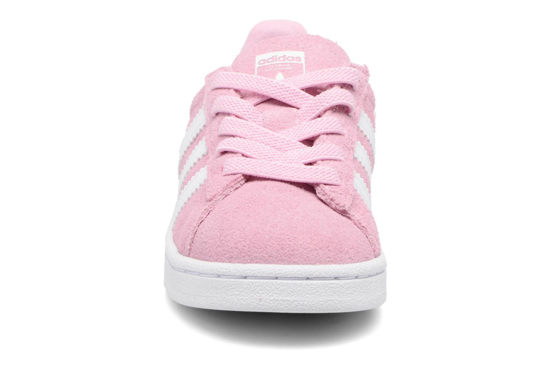 Baskets Adidas Originals Campus El I Rose vue portées chaussures