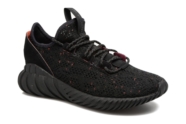 Baskets Adidas Originals Tubular Doom Sock Pk J Noir vue détail/paire