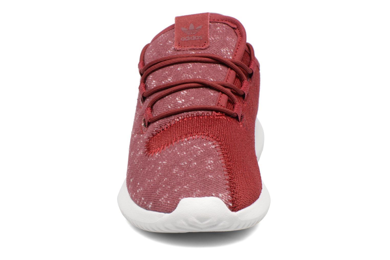 Baskets Adidas Originals Tubular Shadow C Bleu vue portées chaussures