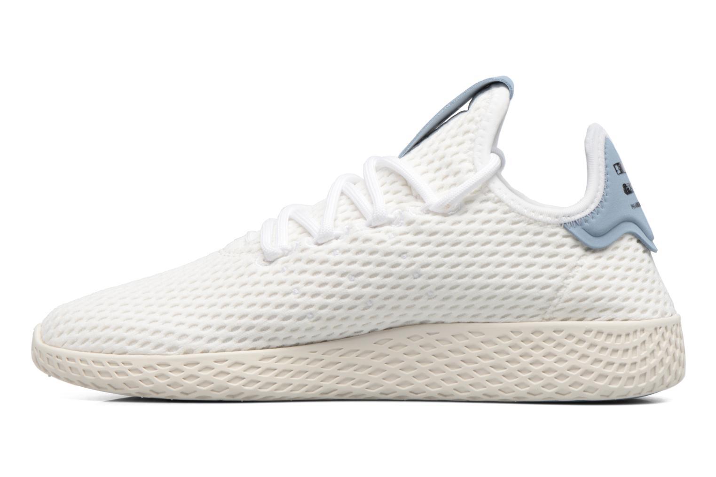 Baskets Adidas Originals Pharrell Williams Tennis Hu J Blanc vue face
