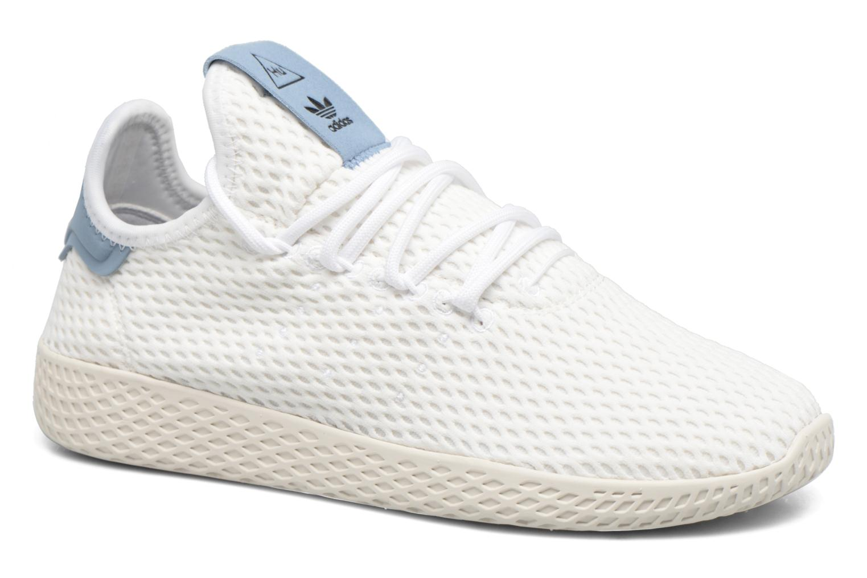 Baskets Adidas Originals Pharrell Williams Tennis Hu J Blanc vue détail/paire