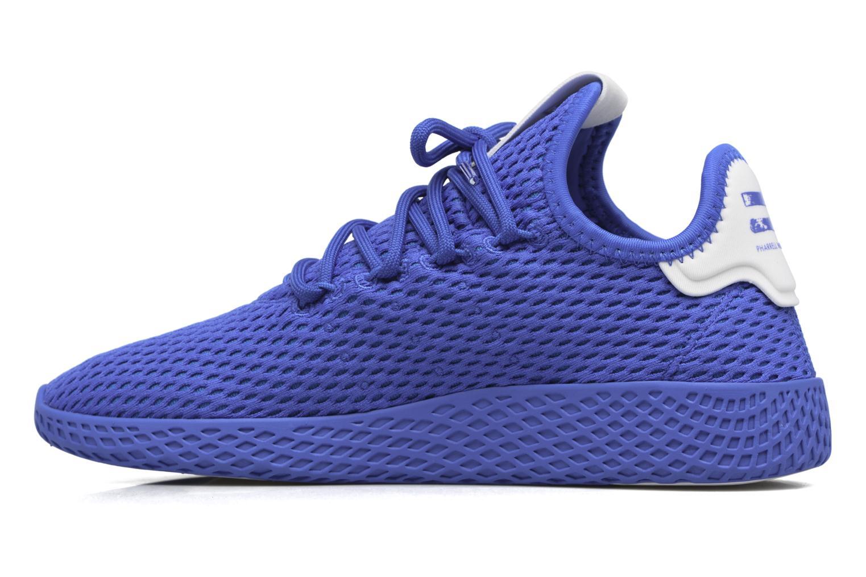 Baskets Adidas Originals Pharrell Williams Tennis Hu J Bleu vue face