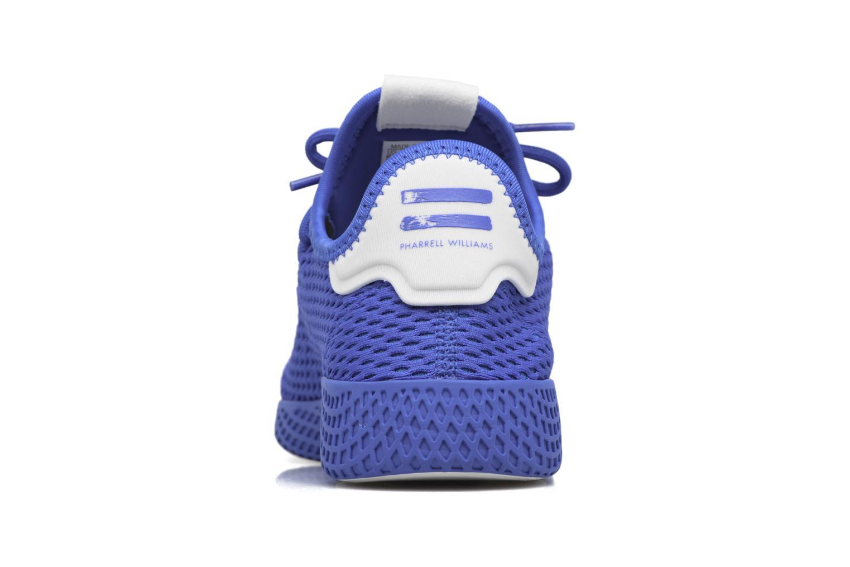 Baskets Adidas Originals Pharrell Williams Tennis Hu J Bleu vue droite