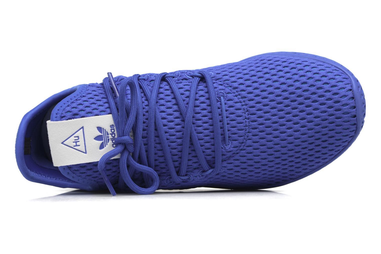 Baskets Adidas Originals Pharrell Williams Tennis Hu J Bleu vue gauche