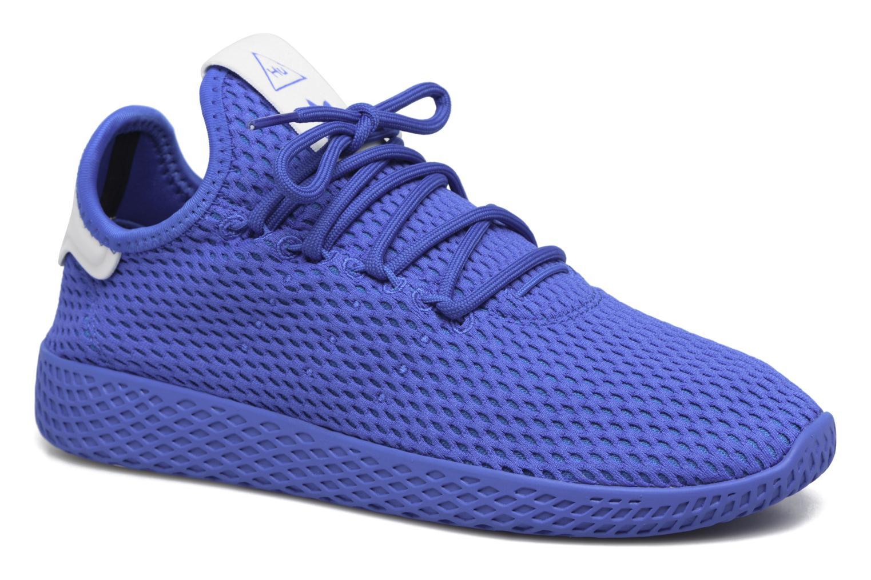 Baskets Adidas Originals Pharrell Williams Tennis Hu J Bleu vue détail/paire