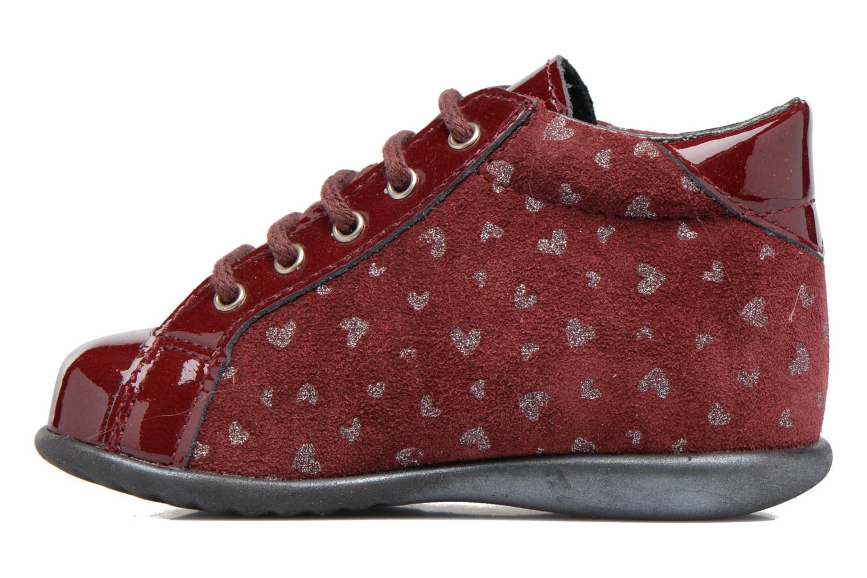 Bottines et boots Bopy Zestar Bordeaux vue face