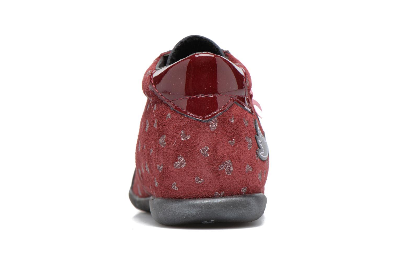 Bottines et boots Bopy Zestar Bordeaux vue droite