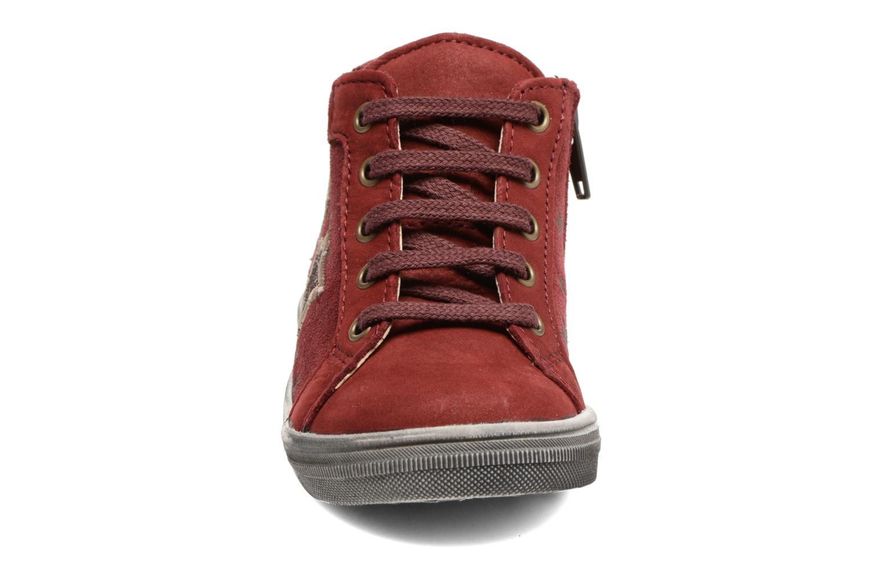 Baskets Bopy Betty Bordeaux vue portées chaussures
