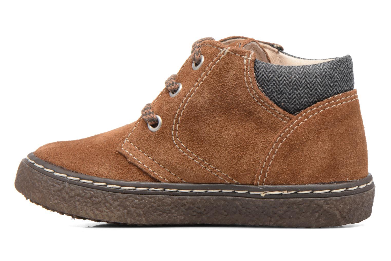 Bottines et boots Bopy British Marron vue face