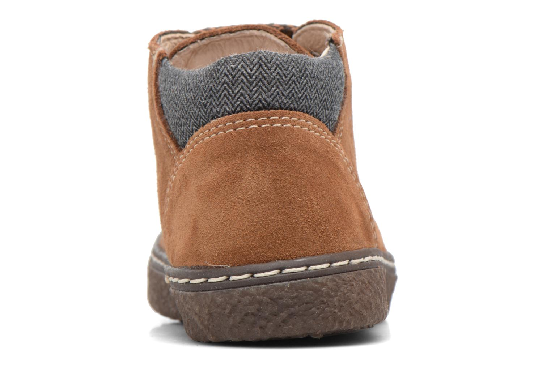Bottines et boots Bopy British Marron vue droite