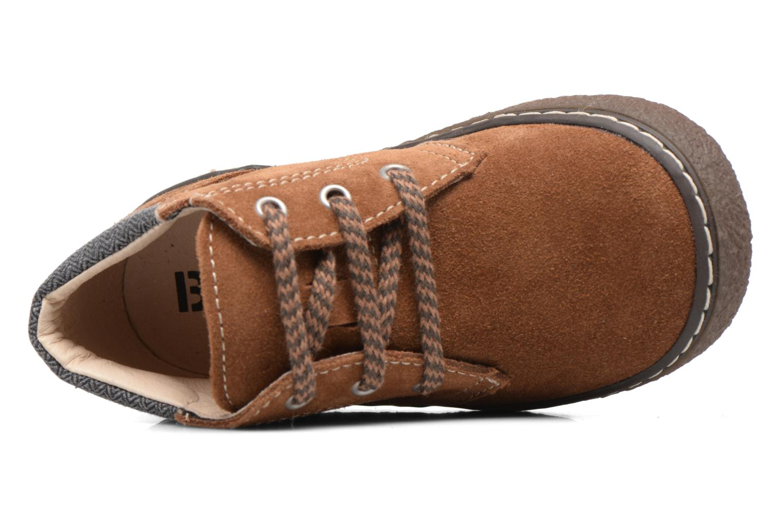 Bottines et boots Bopy British Marron vue gauche
