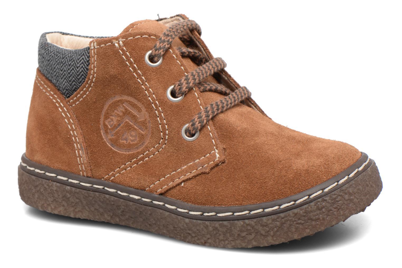 Bottines et boots Bopy British Marron vue détail/paire