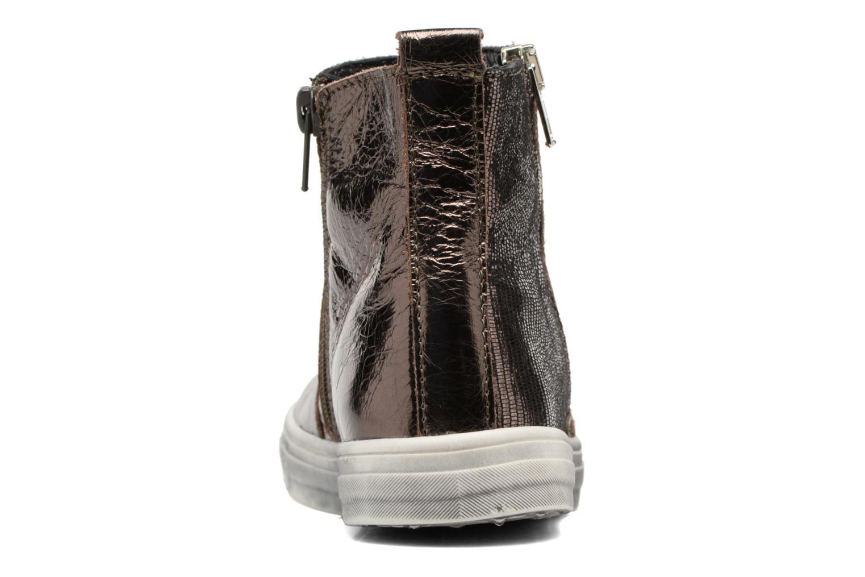 Bottines et boots Bopy Siane Or et bronze vue droite