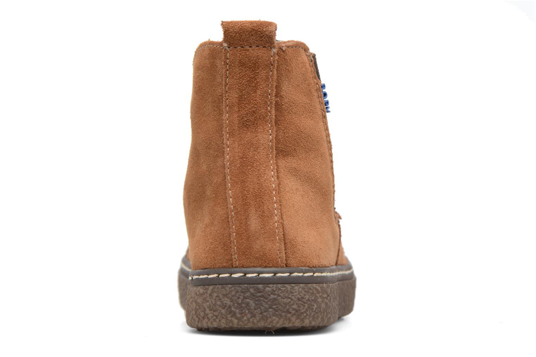 Bottines et boots Bopy Voniface Marron vue droite