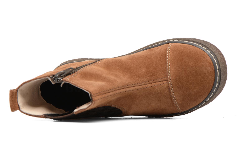 Bottines et boots Bopy Voniface Marron vue gauche