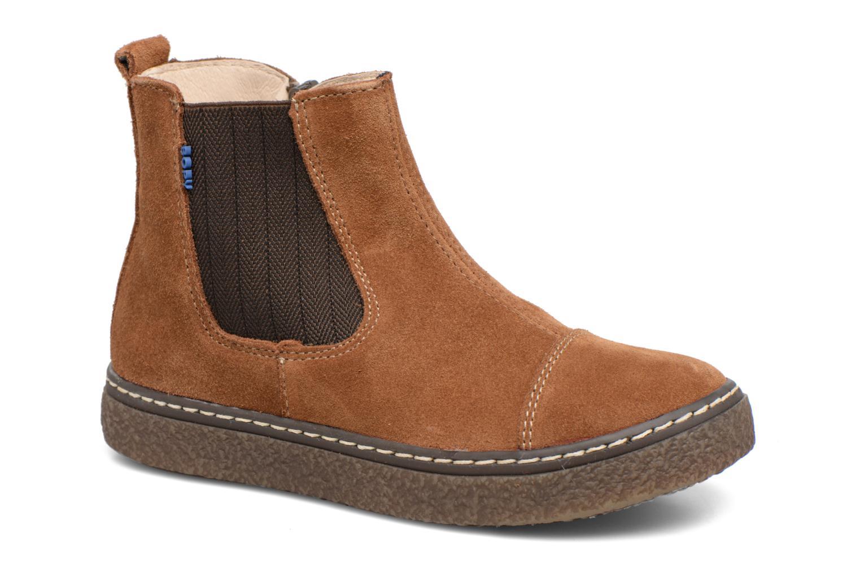Bottines et boots Bopy Voniface Marron vue détail/paire