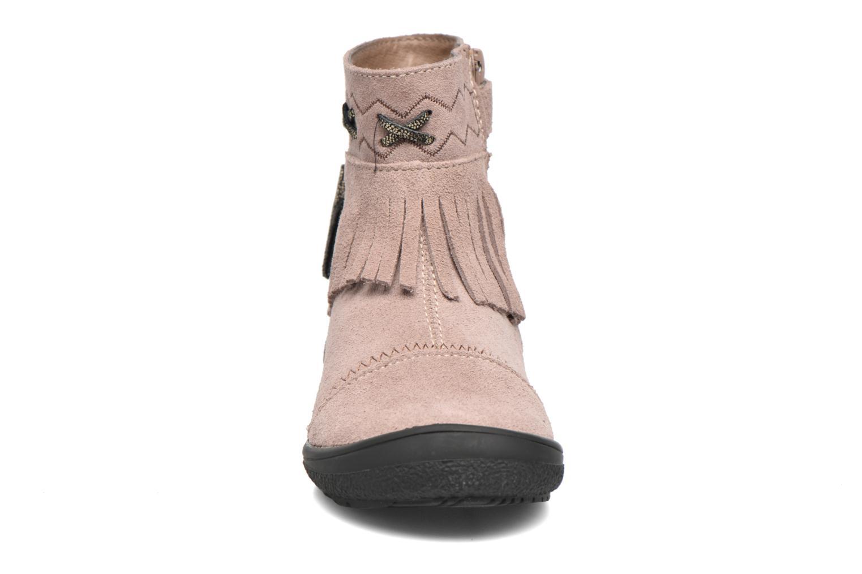 Bottines et boots Bopy Negrila Lilybellule Beige vue portées chaussures