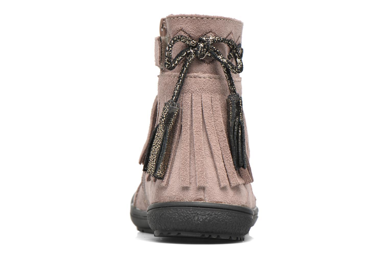 Bottines et boots Bopy Negrila Lilybellule Beige vue droite