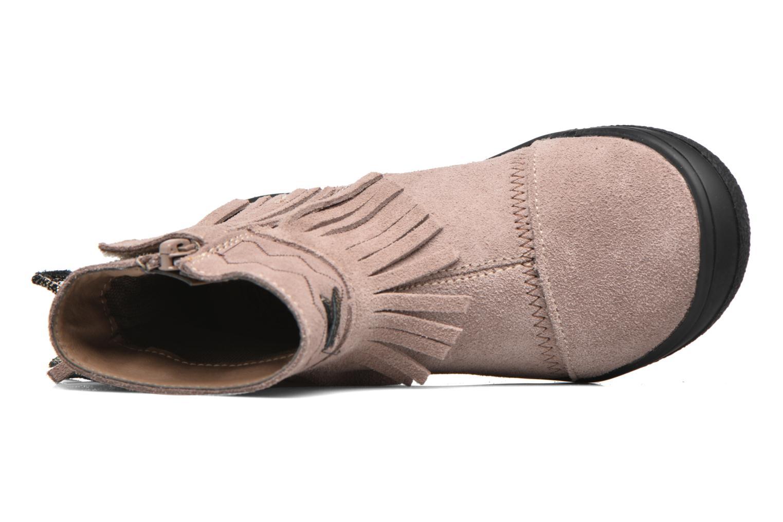 Bottines et boots Bopy Negrila Lilybellule Beige vue gauche