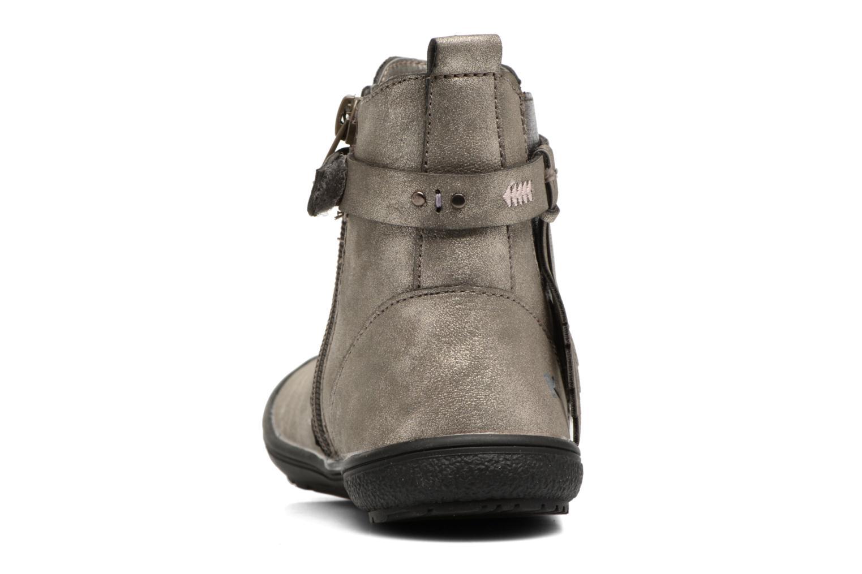 Bottines et boots Bopy Nafira lillybellule Gris vue droite