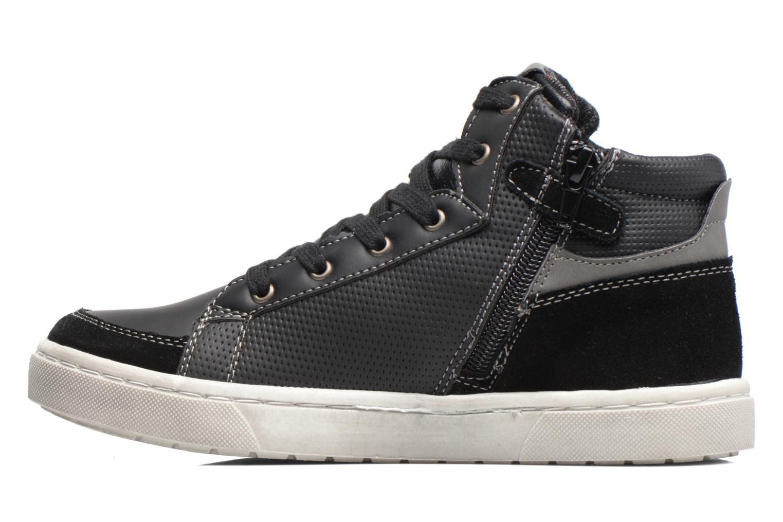 Sneaker Bopy Tolopa schwarz ansicht von vorne