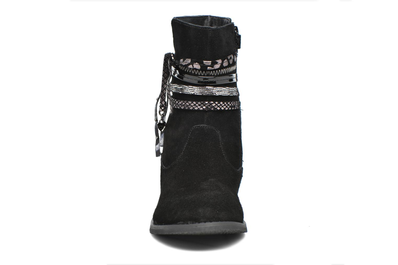Bottes Bopy Niplaca Noir vue portées chaussures