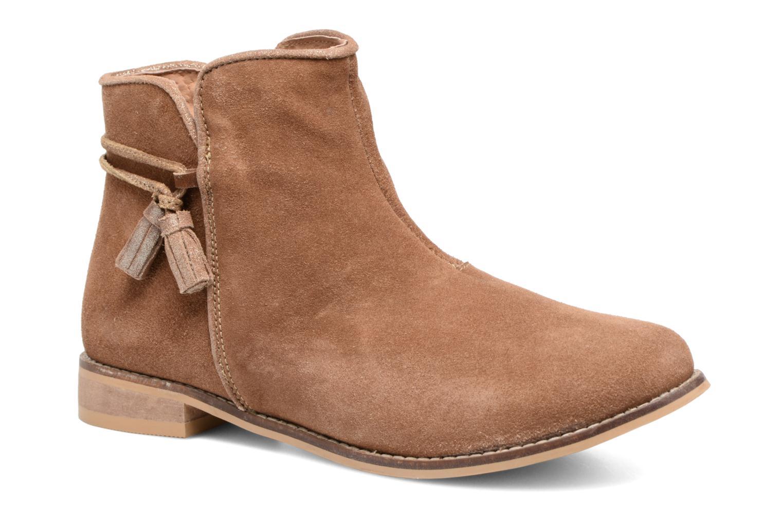 Bottines et boots Bopy Hostia Marron vue détail/paire
