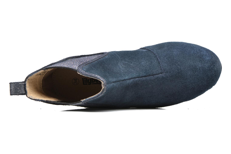 Bottines et boots Bopy Hifram Bleu vue gauche