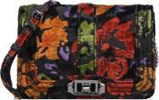 Handbags Bags Small Love Crossbody Floral Velvet