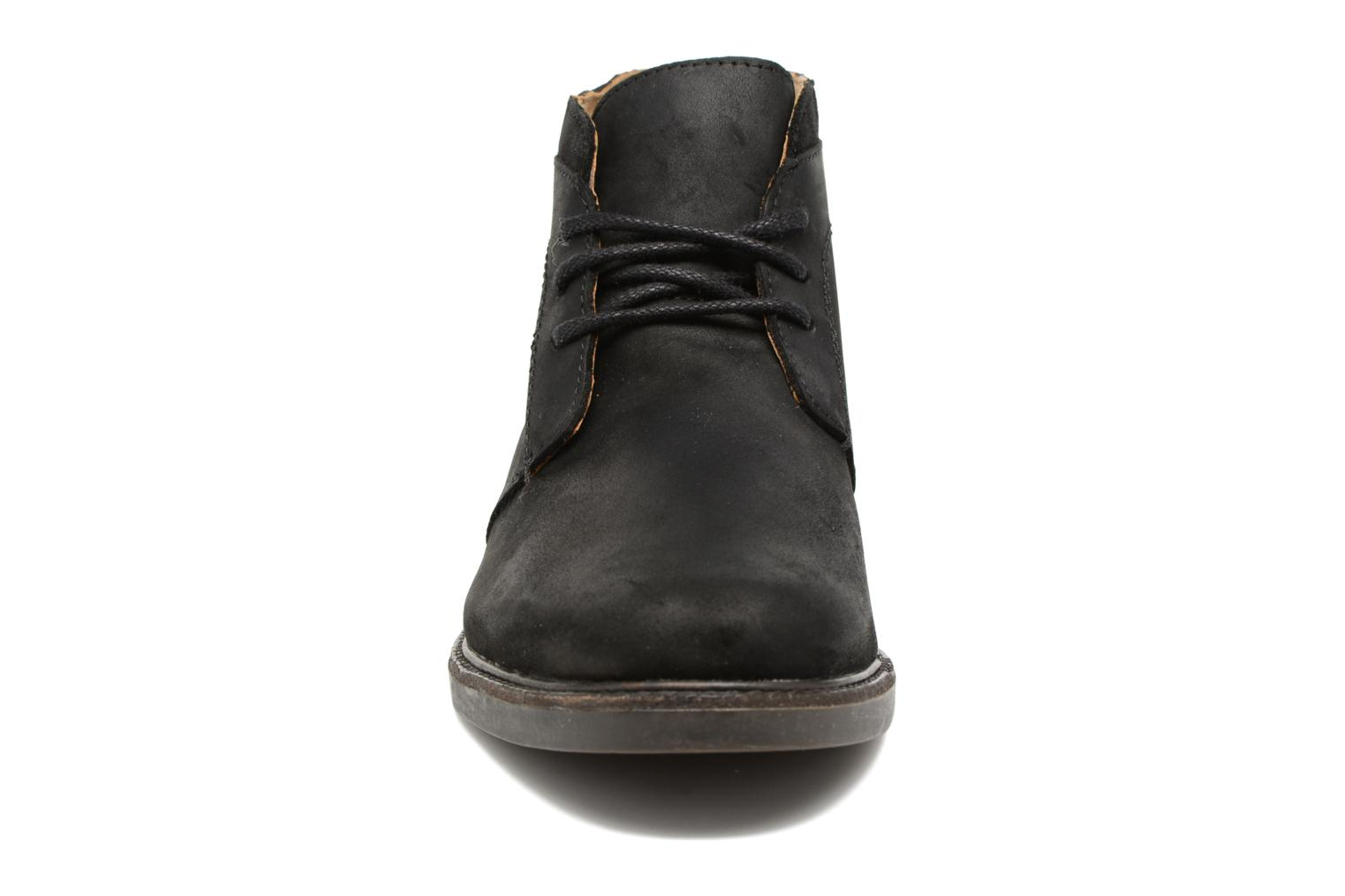 Turner Chukka Waterproof Black leather
