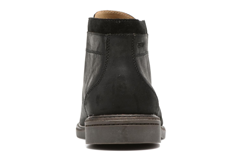 Bottines et boots Sebago Turner Chukka Waterproof Noir vue droite