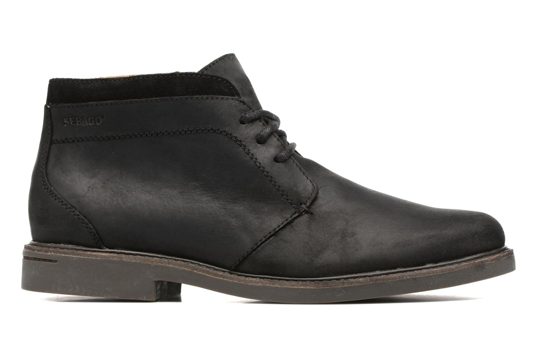 Bottines et boots Sebago Turner Chukka Waterproof Noir vue derrière