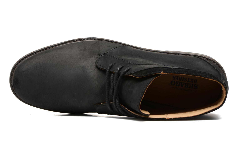 Bottines et boots Sebago Turner Chukka Waterproof Noir vue gauche