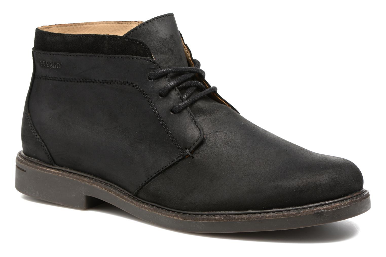 Black Waterproof Sebago Turner leather Chukka t66RnEwq