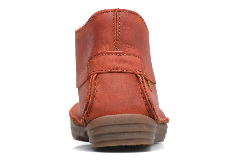 Bottines et boots El Naturalista Rice Field NF81 Rouge vue droite