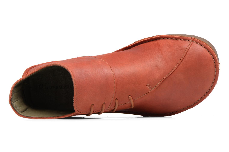 Bottines et boots El Naturalista Rice Field NF81 Rouge vue gauche