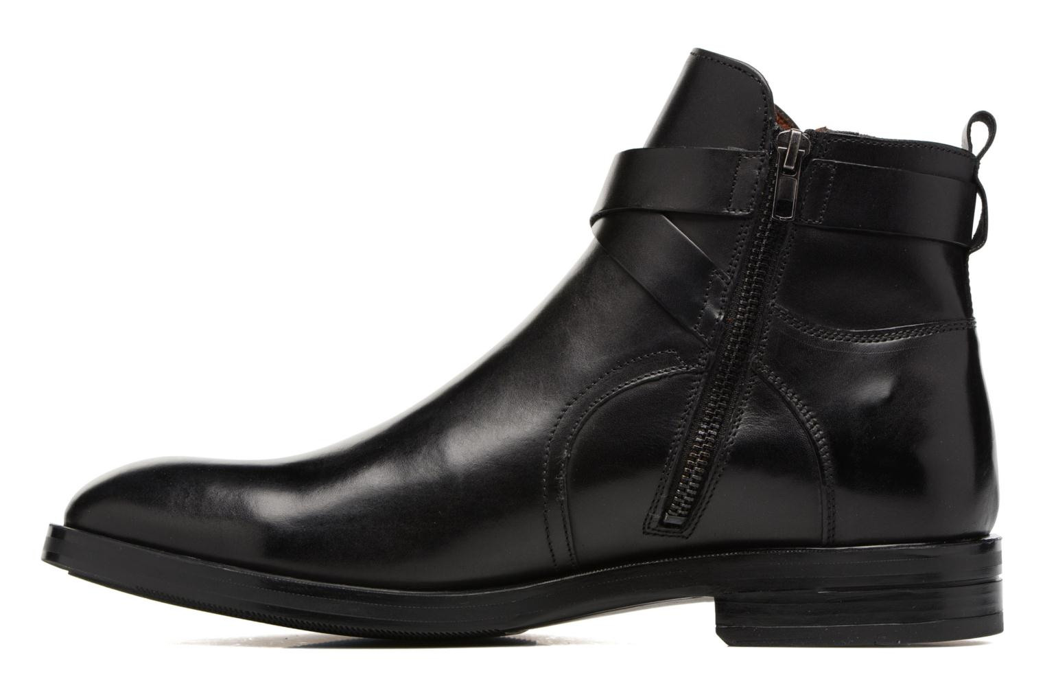 Ankle boots Marvin&co Teddy Black front view