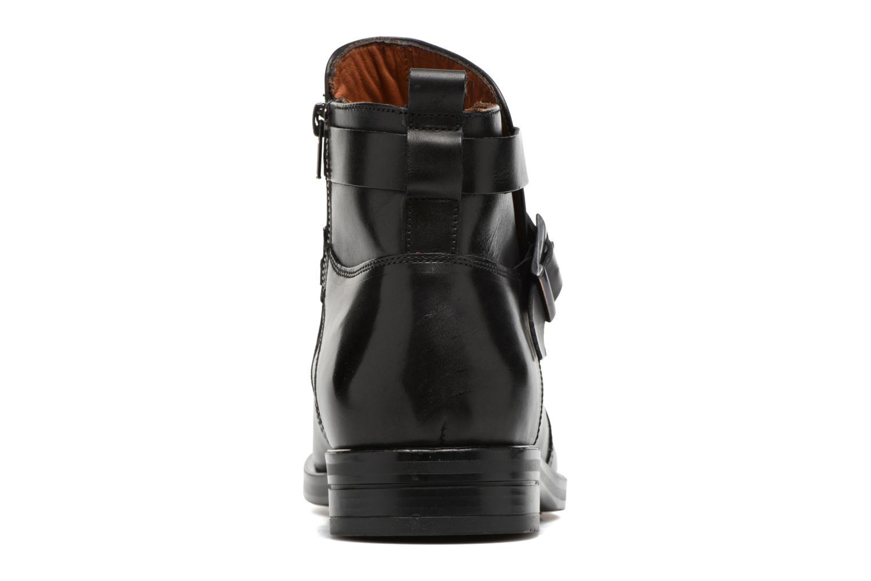 Stiefeletten & Boots Marvin&Co Teddy schwarz ansicht von rechts