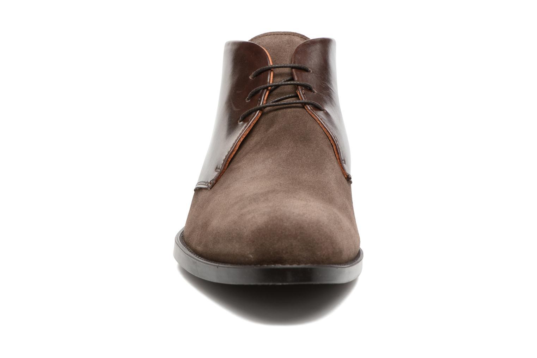 Chaussures à lacets Marvin&Co Tellington Marron vue portées chaussures