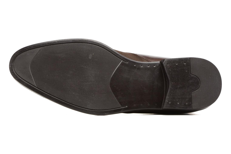 Chaussures à lacets Marvin&Co Tellington Marron vue haut