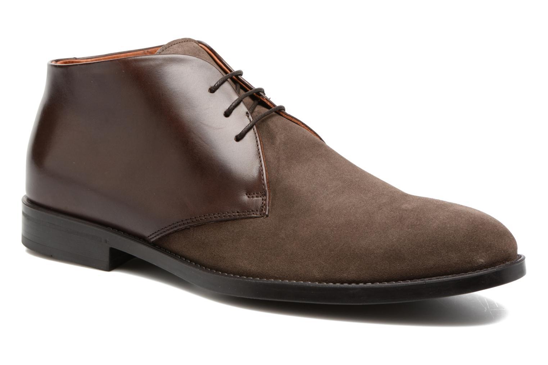 Chaussures à lacets Marvin&Co Tellington Marron vue détail/paire