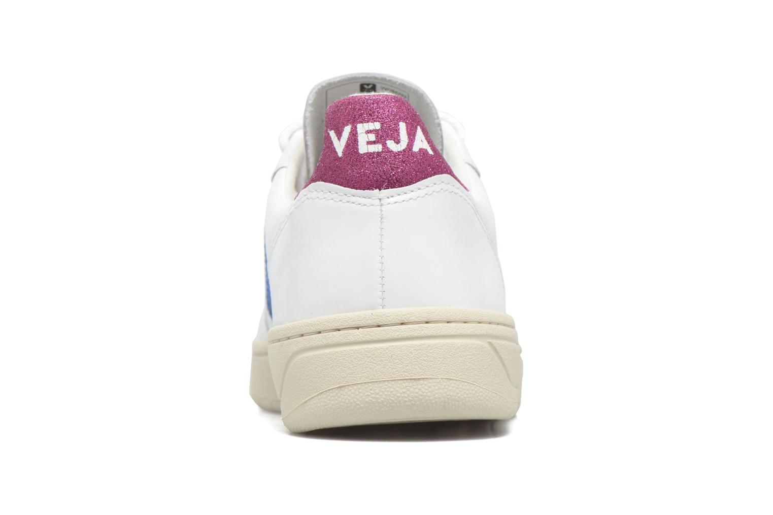 V-10 LEATHER EXTRA WHITE NEON MAGENTA