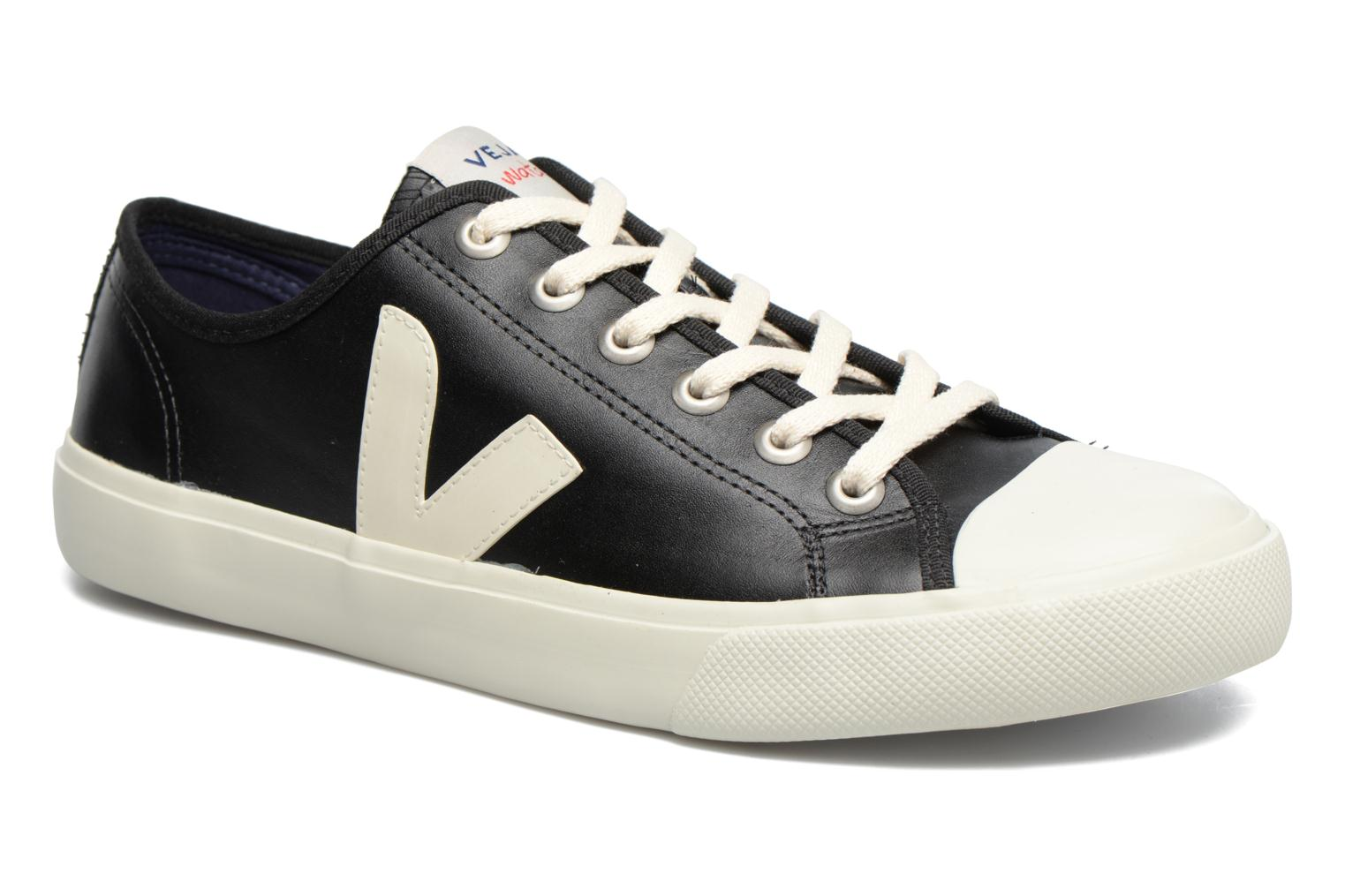 Baskets Veja WATA LEATHER Noir vue détail/paire