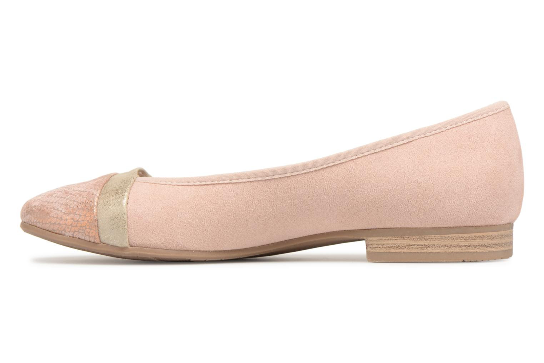 Ballerines Jana shoes Luija Rose vue face