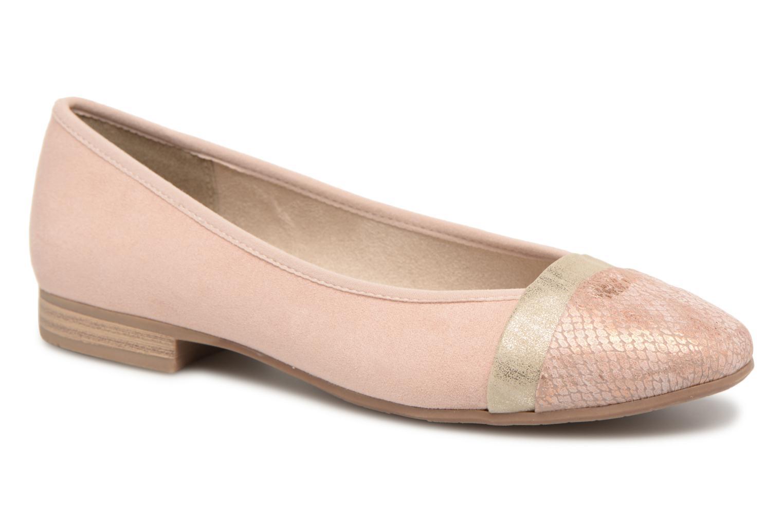 Ballerines Jana shoes Luija Rose vue détail/paire