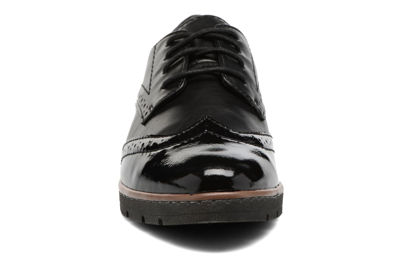 Chaussures à lacets Jana shoes Pomina Noir vue portées chaussures
