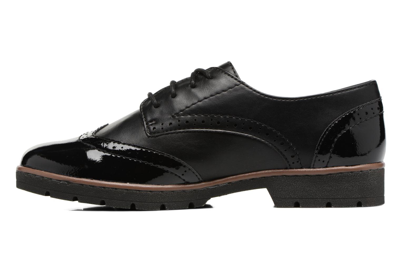 Chaussures à lacets Jana shoes Pomina Noir vue face