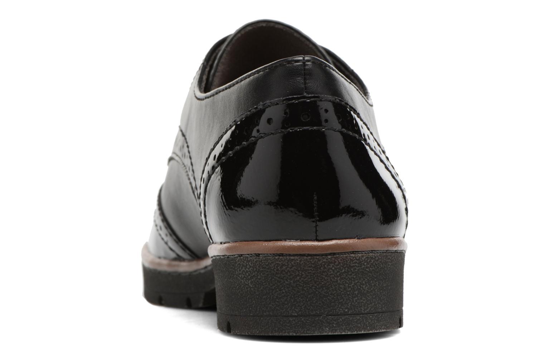 Chaussures à lacets Jana shoes Pomina Noir vue droite