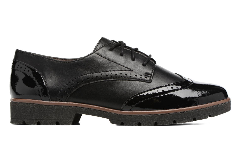 Chaussures à lacets Jana shoes Pomina Noir vue derrière